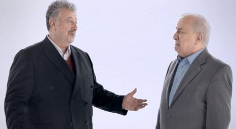Zeki Alasya ve Metin Akpınar yıllar sonra bir reklam için de olsa bir araya geldi.